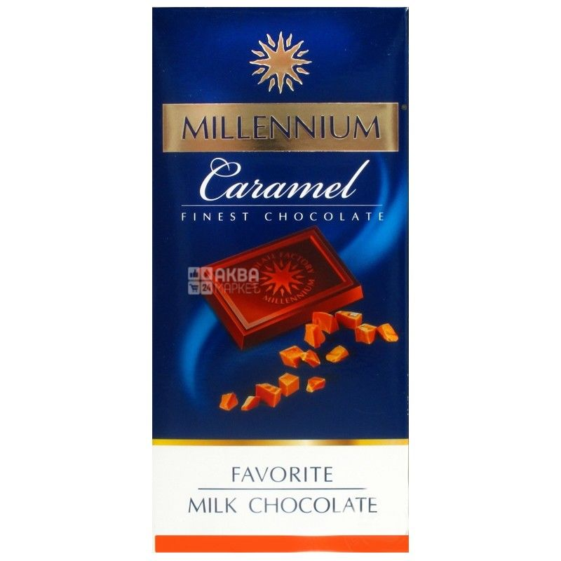 Millenium Favorite, 100 г, молочный шоколад, Caramel