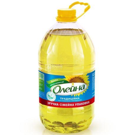 Олейна, 5 л, соняшникова олія, рафінована