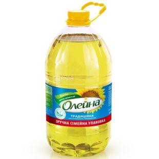 Oleina, 5 l, refined sunflower oil