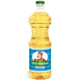 Розумниця, 0,87 л, подсолнечное масло, рафинированное