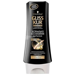 Gliss Kur, 200 ml, Balsam, Extreme Recovery