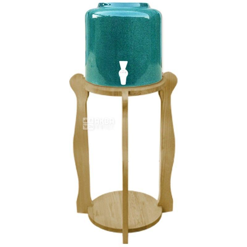 Подставка деревянная круглая под 2 бутыли, WSD-5 БУК