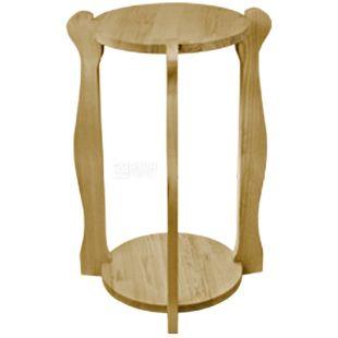 ViO, Подставка деревянная WSD-5, круглая под 2 бутыли, Бук