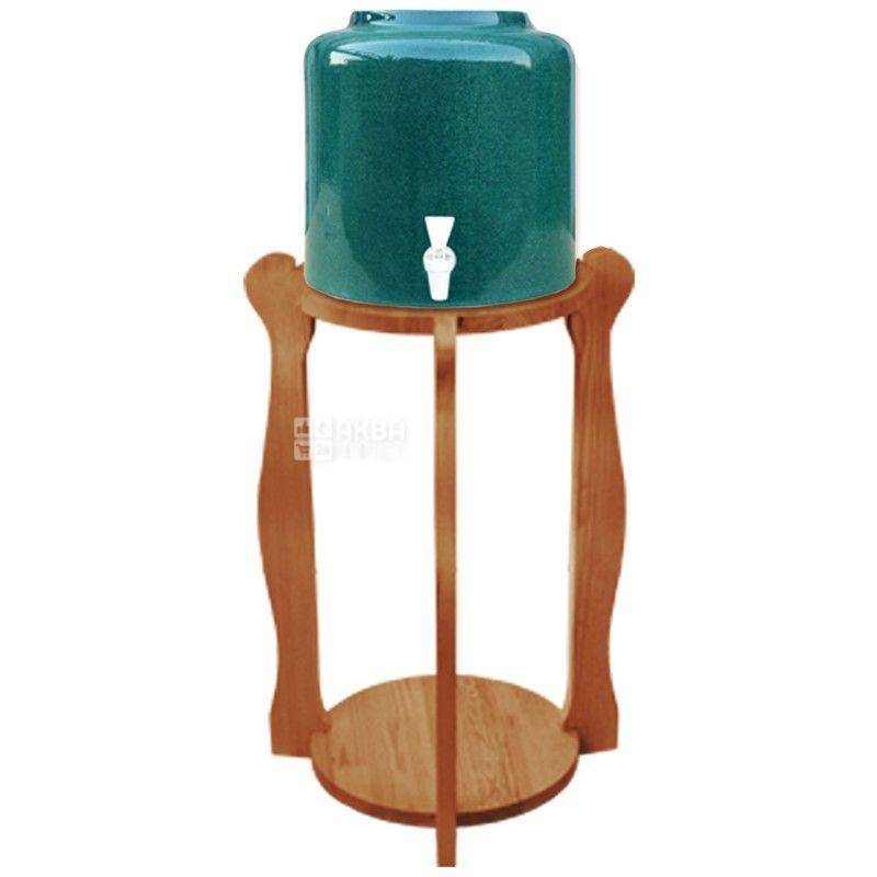 Подставка деревянная, круглая под 2 бутыли, WSD-5 ВИШНЯ