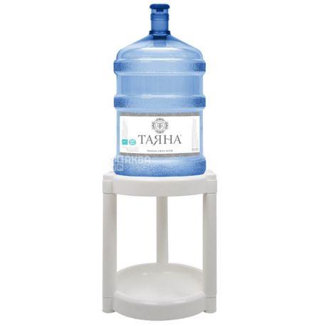Подставка под бутыль, пластиковая белая