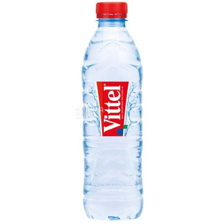 Vittel, Packing 24 pcs. on 0,5 l, Water not aerated, Mineral, PET, PAT