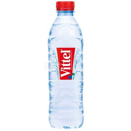 Vittel, 0,5 л, Упаковка 6 шт., Виттель, Вода минеральная негазированная,  ПЭТ