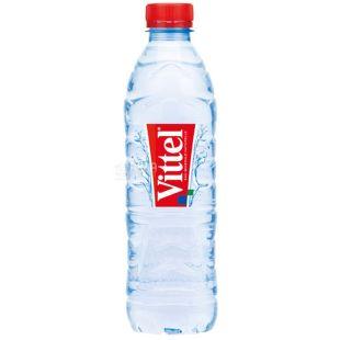 Vittel, 0,5 л, Упаковка 24 шт., Виттель, Вода минеральная негазированная,  ПЭТ