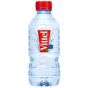 Vittel, упаковка 6 шт. по 0,33 л, негазована вода, ПЕТ