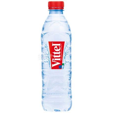 Vittel, 0,5 л, Виттель, Вода минеральная негазированная, ПЭТ