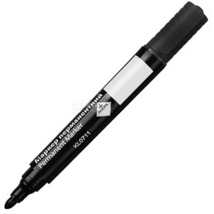 Klerk, 2-4 мм, маркер перманентный, Черный, м/у