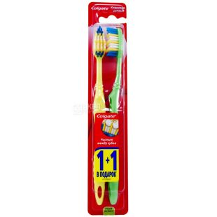 Colgate, 1 + 1 pcs., Toothbrush, health classic