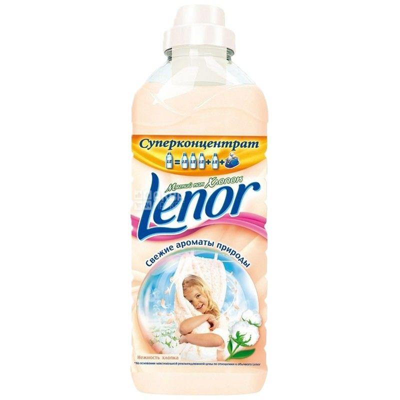 Lenor 1 л, Кондиціонер для білизни, Ніжність бавовни