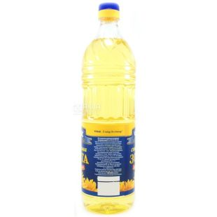 Chumak, 1 l, sunflower oil, refined, deodorized