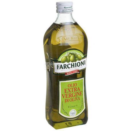 Farchioni Extra vergine, 1 л, Олія оливкова, скло