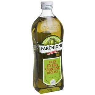 Farchioni Extra vergine, 1 л, Масло оливковое, стекло