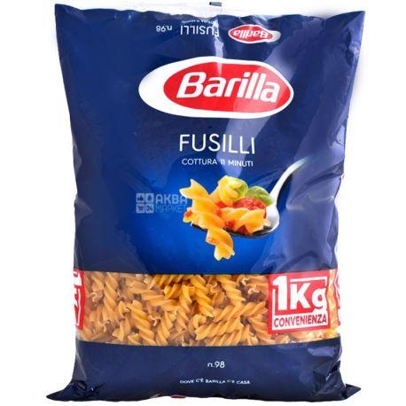 Barilla Fusilli №98, 1 кг, Макароны Барилла Фузилли