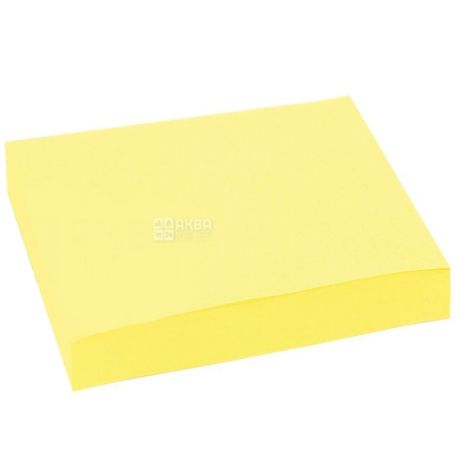 Skiper, 100 l., Paper, With a sticky layer, Yellow, m / y