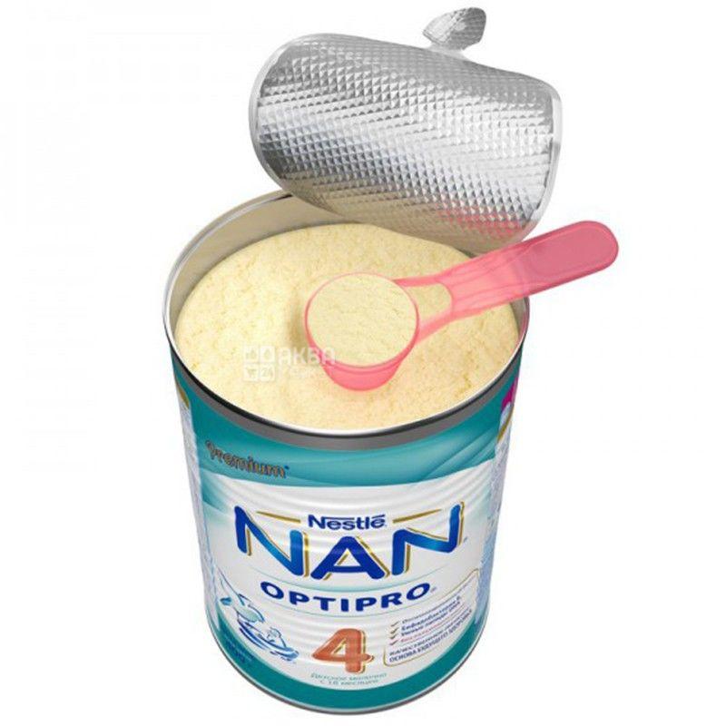 Nestle, 400 г, смесь молочная, Nan 4 Premium с 18 месяцев