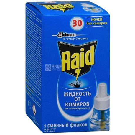 Raid, жидкость для фумигатора, 30 ночей