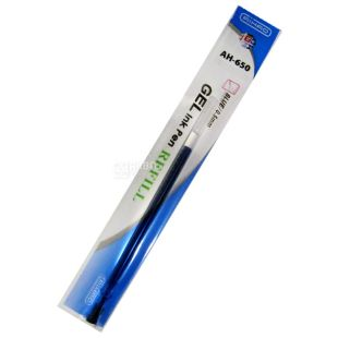 AIHAO, 12 шт., 0,5 мм, стержень для ручки, Гелевый, Синий, м/у