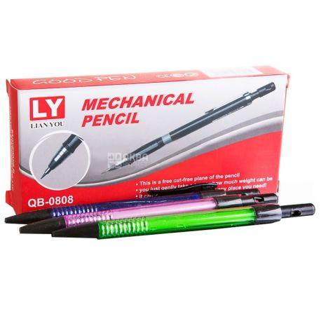 AIHAO, Олівець простий механічний, 0,5 мм, 12 шт.