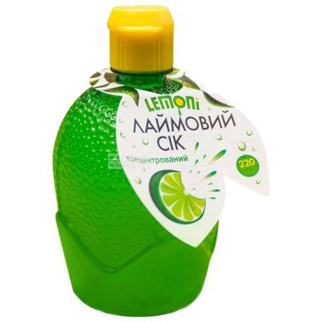Lemoni, 220 мл, сік лайма, приправа