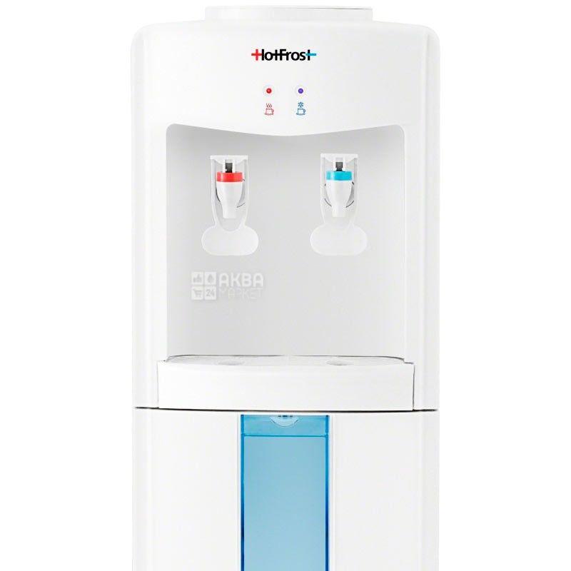 HotFrost V118E, Кулер для воды с электронным охлаждением, напольный