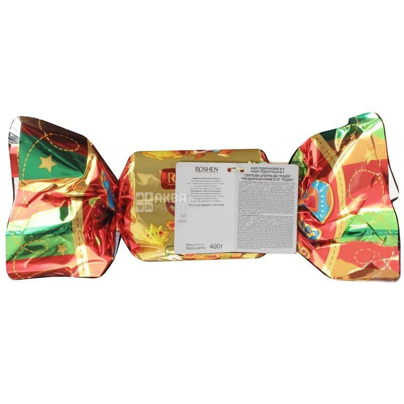 Новогодний подарок №6. 400 гр. Праздничная конфета. ТМ Roshen