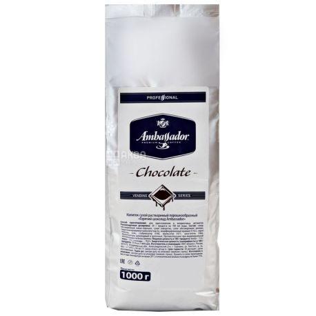 Ambassador, Chocolate vending series,1 кг, Шоколад горячий Амбассадор, для вендинга