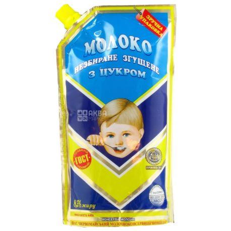 Первомайский МКК, Молоко сгущенное цельное с сахаром 8,5%, 440 г