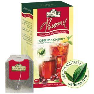 Ahmad, 20 шт., чай трав'яний, Шипшина та вишня
