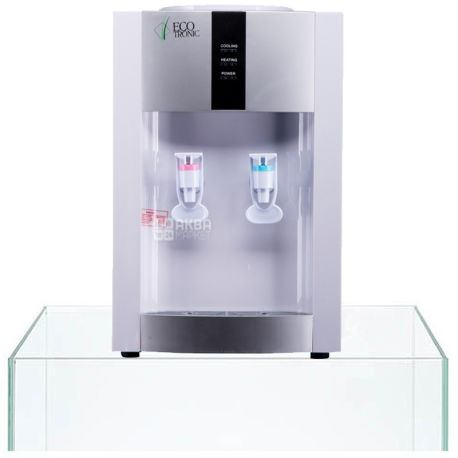 Ecotronic H1-T White, Кулер для води з компресорним охолодженням, настільний