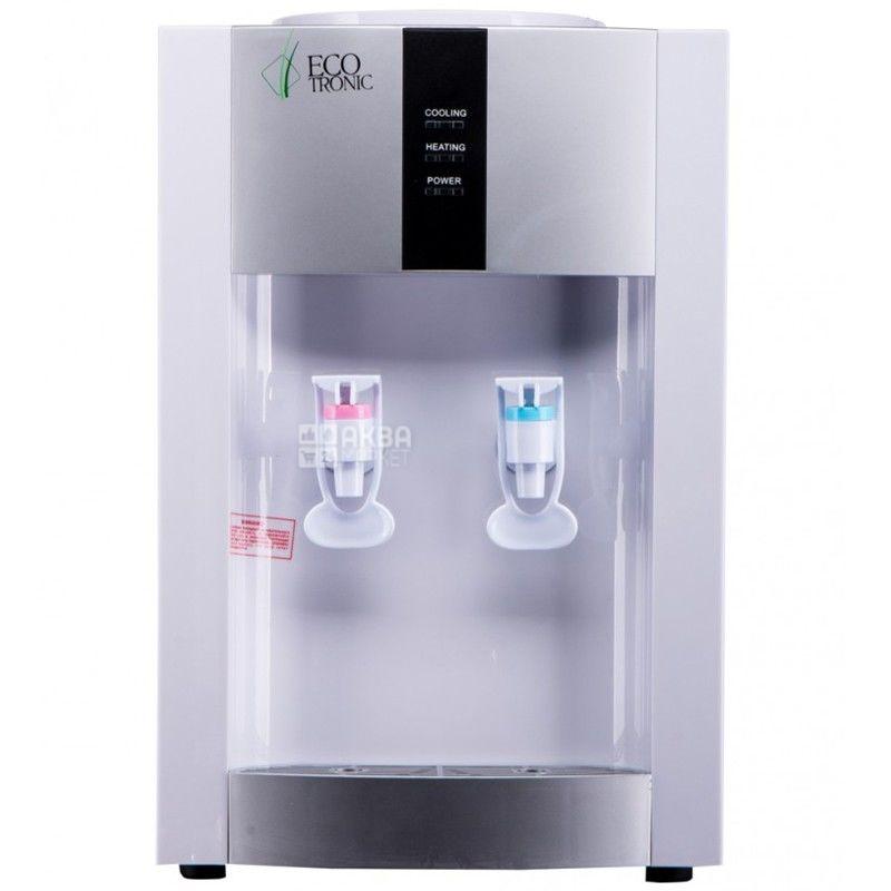 Ecotronic H1-T White, Кулер для воды с компрессорным охлаждением, настольный