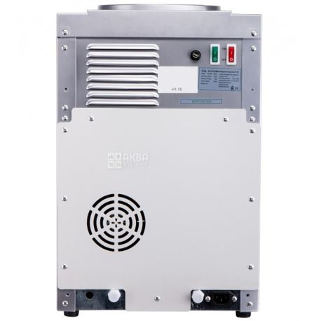 Ecotronic H1-TE Silver, Кулер для води з електронним охолодженням, настільний