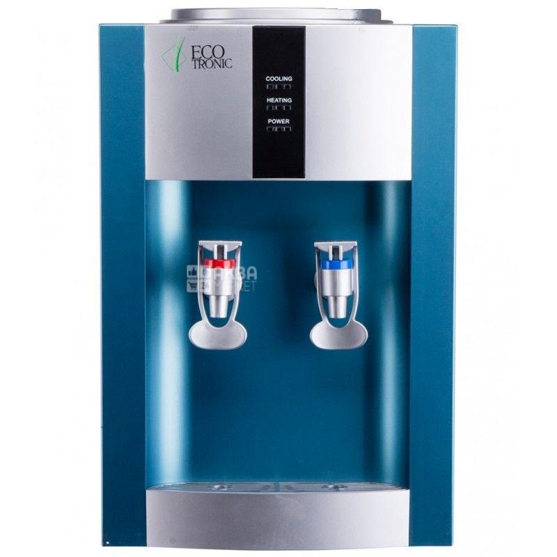 Ecotronic H1-TE Silver, Кулер для воды с электронным охлаждением, настольный