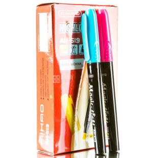 AIHAO, 12 pcs., 2-4 mm, a set of markers, Assorted, m / s