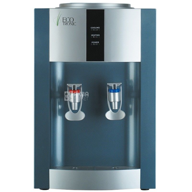Ecotronic H1-T Silver, кулер для воды настольный