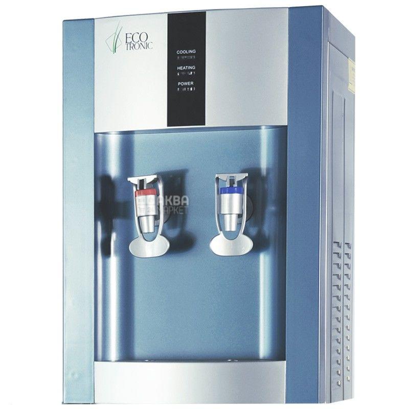 Ecotronic H1-T Silver, Кулер для води з компресорним охолодженням, настільний