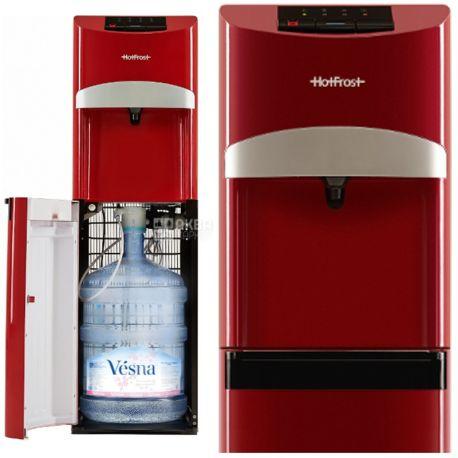 HotFrost 45A Red, кулер для воды с нижней загрузкой бутыли
