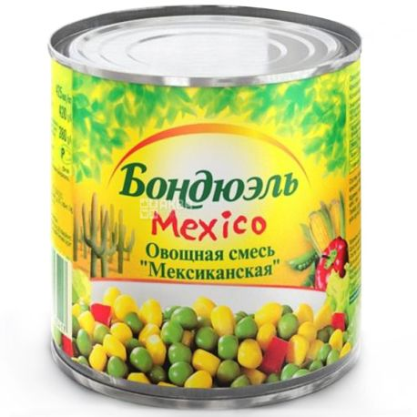 Bonduelle, 425 г, овочева суміш, Mexico