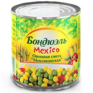 Bonduelle, 340 г, овочева суміш, Mexico