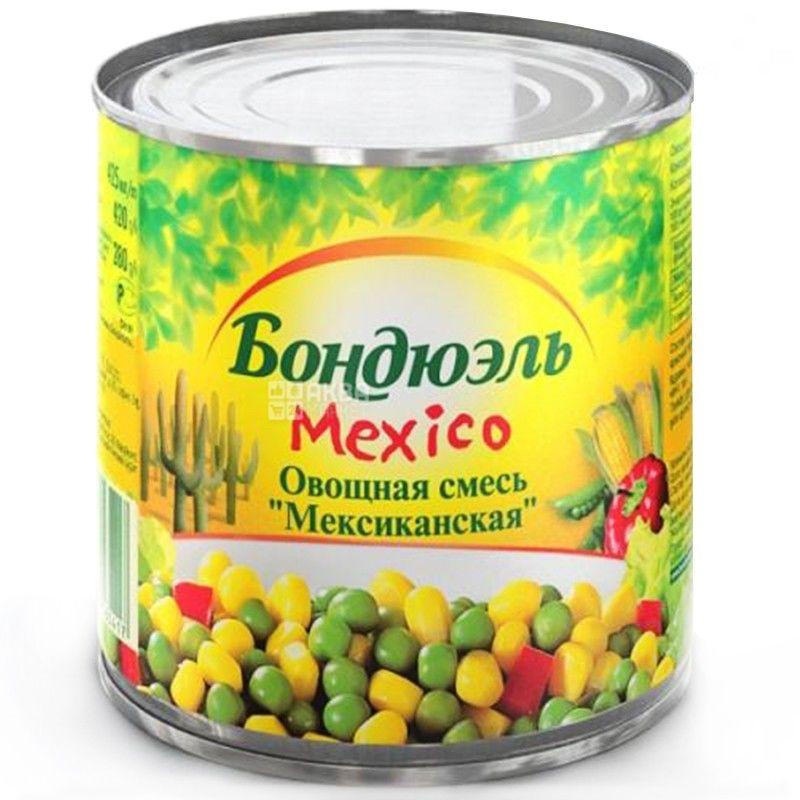 Bonduelle, 425 г, овощная смесь, Mexico