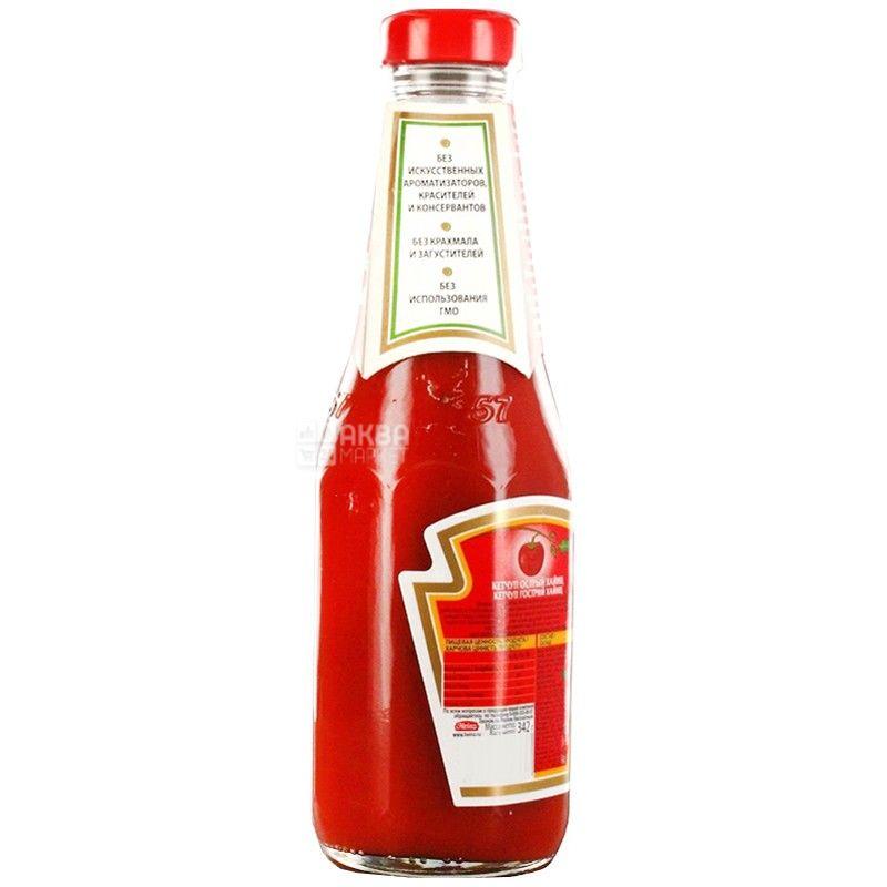 Heinz, 300 мл, кетчуп, томатный, стекло