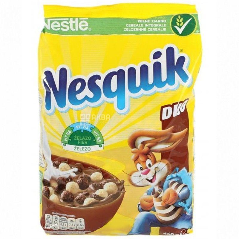 Nesquik, 460 г, готовый завтрак, Duo