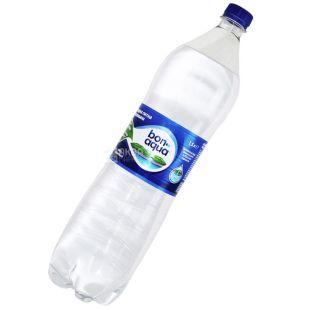 BonAqua, 1,5 л, минеральная вода, сильногазированная, ПЭТ