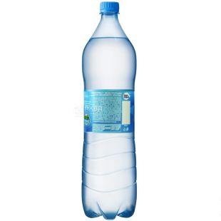 BonAqua, 1,5 л, Вода негазированная, ПЭТ