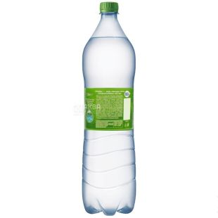 BonAqua, 1,5 l, Lightly carbonated water, PET, PAT
