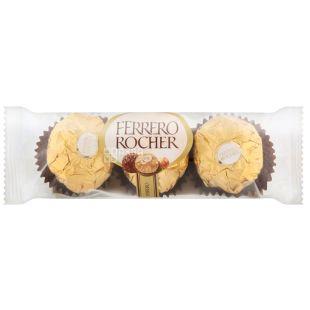 Ferrero Rocher, 37,5 г, цукерки