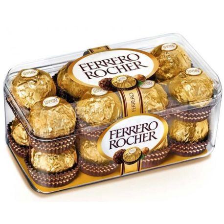 Ferrero Rocher, 200 г, конфеты